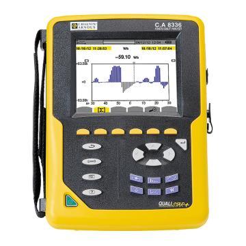 CHAUVIN ARNOUX/CA C.A 8336三相电能质量分析仪,暂态210次,谐波可测,无钳头