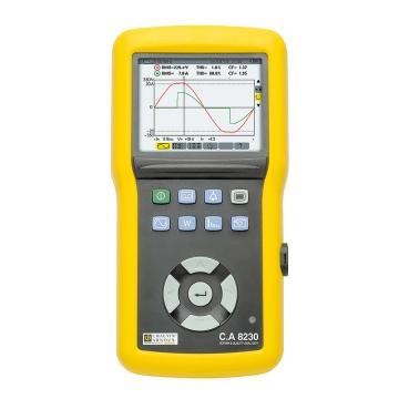 CHAUVIN ARNOUX/CA C.A 8230单相电能质量分析仪,谐波可测,无钳头