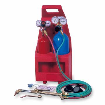 捷锐便携式气瓶焊接与切割成套工具,适用气体氧气、丙烷或天然气,PTC-N