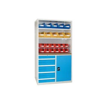 无门型置物柜, 1000W*572D*1800H(不含零件盒)