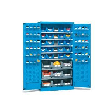 挂板门型置物柜, 1000W*600D*1800H(不含零件盒)
