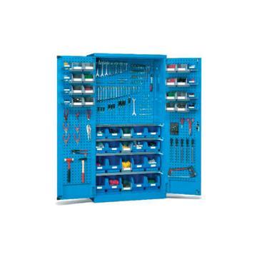 挂板门型置物柜, 1000W*400D*1800H(不含零件盒)
