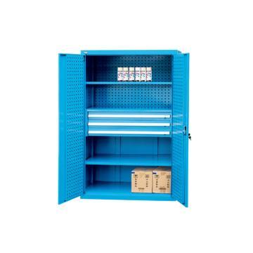 挂板门型置物柜, 1000W*600D*1800H,不含零件盒