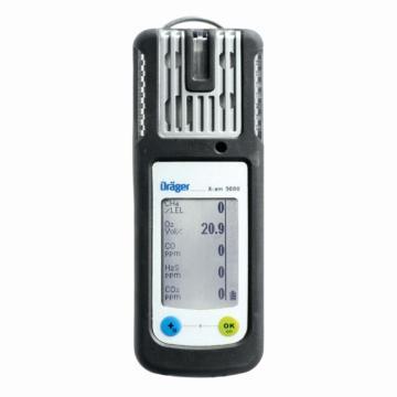 德尔格/draeger X-am 5000四合一气体检测仪,NH3/NO2/PH3(0-2000ppm)/SO2(0-100ppm),扩散式,不可充电