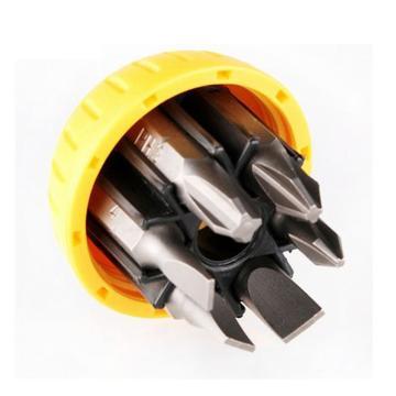世达 棘轮螺丝批组套,6件可折叠式,09349