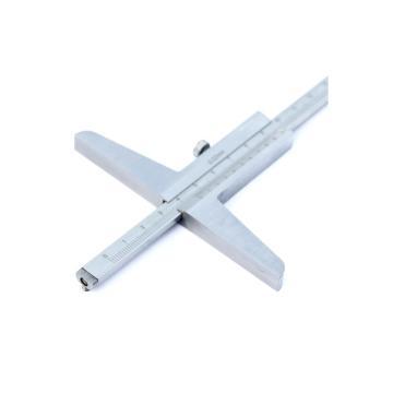 上量 游标带钩深度卡尺,0-200mm