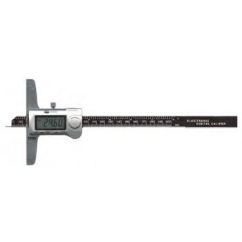"VOGEL 深度卡尺,300mm/12"",针测头(金属罩壳),22 81655"