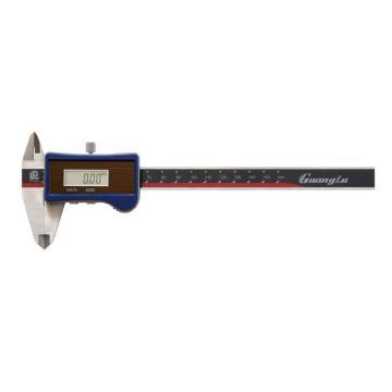 广陆 数显卡尺,0-150mm(太阳能)