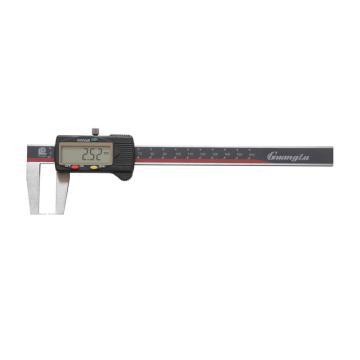 广陆 外沟槽数显卡尺,0-150mm(扁头)
