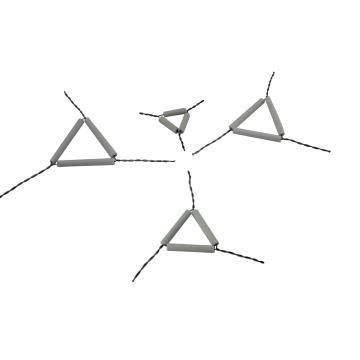 泥三角,陶瓷,60mm,10个/包