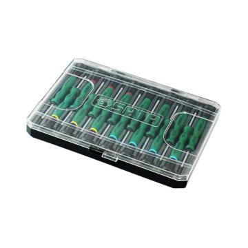 世达螺丝批套装,15件套综合微型螺丝批, 09317