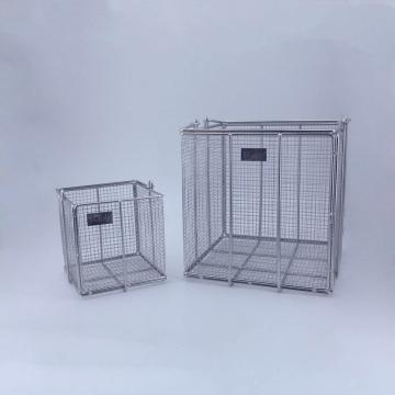 不锈钢方形清洗筐,大号,300×300×300mm,1个