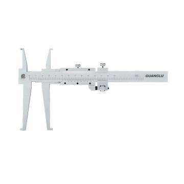 广陆 双内沟游标卡尺,18-150mm(开式刀头),不含第三方检测