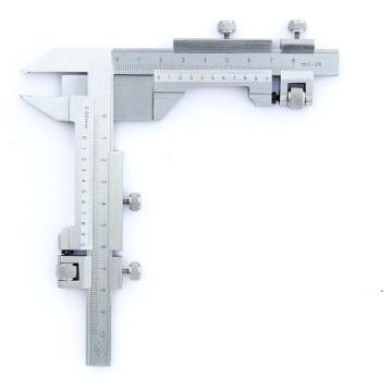 上量 齿厚游标卡尺,m1-26