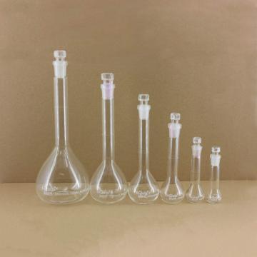 透明容量瓶,玻璃塞,100ml,2个/盒