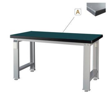 重量型钳工桌,H800ⅹW1500ⅹD750,桌面材质:桌板50mm厚(8MM钢板+静音垫+基板)平均承重1000KG