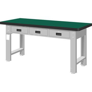 天钢 重量型工作桌,宽深高(mm):800*1500*750 桌面平均承重(kg):1000 WAT-5203N 不含安装费