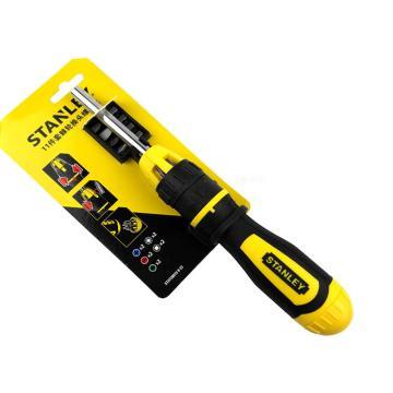 史丹利 11件套棘轮换头螺丝批,STHT68010-8-23