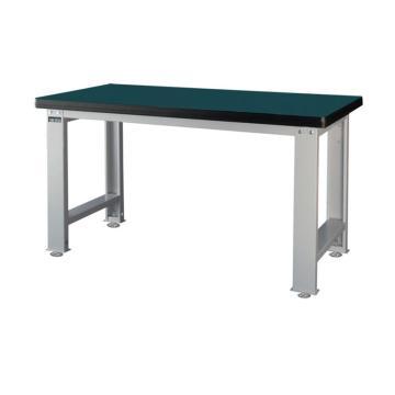 标准型工作桌,H800ⅹW1500ⅹD750,桌面材质:绿色耐冲击,平均承重500KG