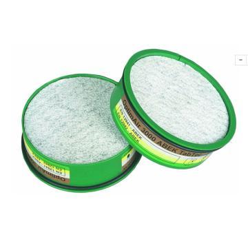 梅思安MSA 滤罐,10049635,A1B1E1K1 防多种化学气体,10片/包