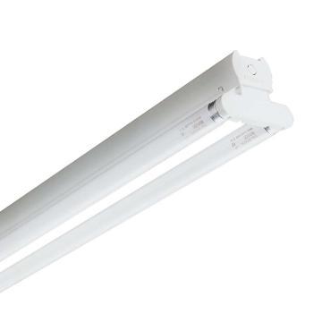 飞利浦 2x36W T8支架灯,TMS018/236, 不含光源,带电子镇流器,不带反射罩