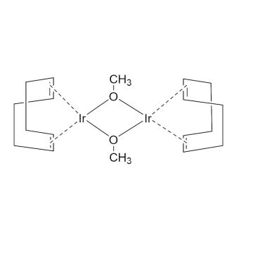 CAS:12148-71-9|甲氧基(环辛二烯)合铱二聚体|98%|600037-250mg