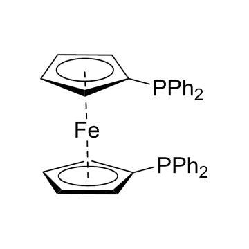 CAS:12150-46-8|1,1'-双(二苯基膦)二茂铁|98%|600383-1g