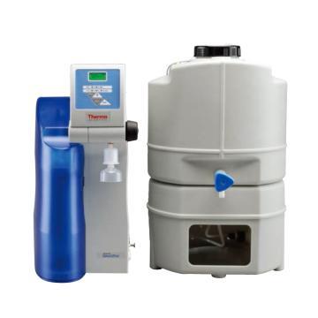 超纯水仪,一体式,热电,Smart2Pure UV,纯水产量:3L/hr@15℃,外部尺寸:305x400x545mm,订货号50129872