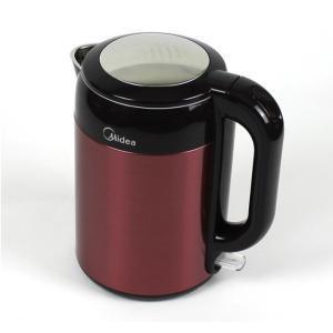 美的(Midea)MK-H215E4 电热水壶 ( 304不锈钢 6D全钢 双层防烫)