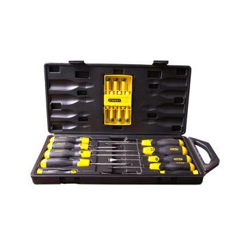 史丹利钟表螺丝批组套,16件套(十字&一字&梅花)68-0002C-23