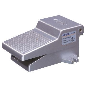 亚德客AirTAC 脚踏阀,2位3通,附锁型,PT1/8,3F210-06-L