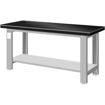 天钢 钳工桌板重量型工作桌,宽深高(mm):800*1800*750 承重(kg):1000,WA-67A 不含安装费