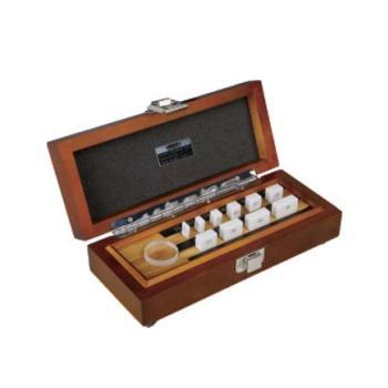 INSIZE 千分尺专用量块,使用0-25mm千分尺(陶瓷材质) ,4107-10
