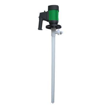 标博/biaobo HD-PVDF 聚偏氟乙烯电动插桶泵,调速普通电机