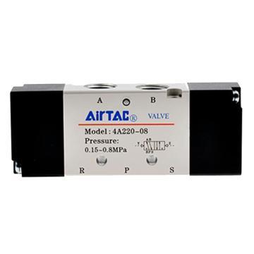 亚德客AirTAC 双控5通气控阀,4A220-06