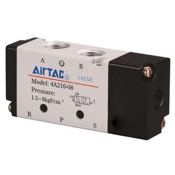 亚德客AirTAC 单控5通气控阀,4A210-06
