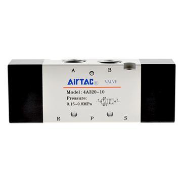 """亚德客AirTAC 二位五通双气控阀,PT3/8"""",4A320-10"""