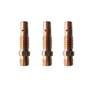 沪工CO2气保焊枪导电嘴座,MB24,100只/包