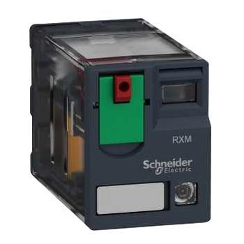 施耐德 小型中间继电器,RXM2AB2ED