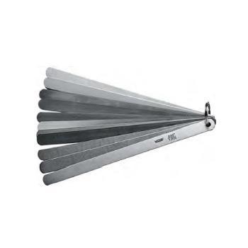 """VOGEL 塞尺,0.05-1mm/0.002-0.04""""(13片),150mm"""