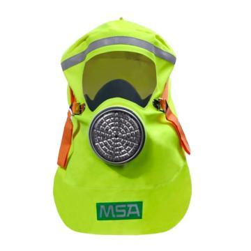 MSA 10152001 S-CAP 消防自救呼吸器,黑色包装袋