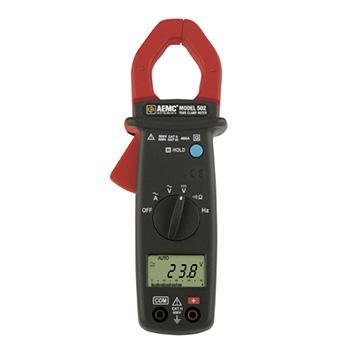 CHAUVIN ARNOUX/CA AEMC 502钳形表,单交流,真有效值,钳口直径28mm