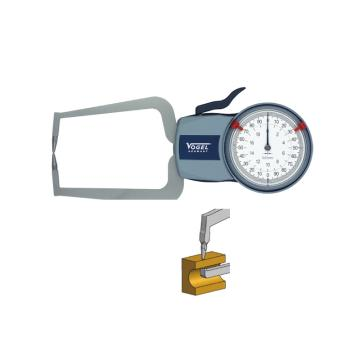VOGEL 表盘外卡规,0-50mm(IP54),(单尖头单扁头)