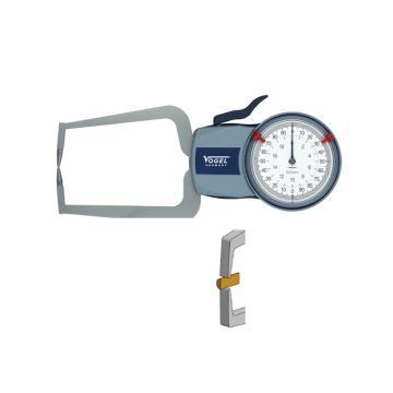 VOGEL 表盘外卡规,0-10mm(IP54),(双扁头)