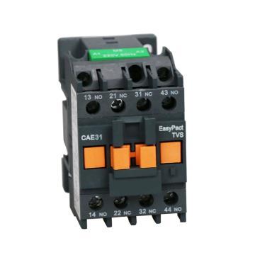 施耐德 EasyPact TVS控制继电器,24V,50Hz,3NO+1NC,CAE31B5N