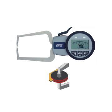 VOGEL 数显外卡规,0-40mm(IP63),D(双盘型测头)