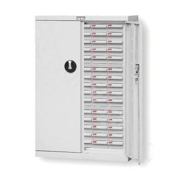 天钢 零件盒储存柜,H925×W620×D283mm,75个ABS耐油乳白盒,木箱包装