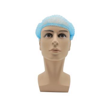 无纺布条形帽,蓝色,20英寸,M码,100个/包