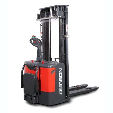 诺力 PS系列经典款全电动堆高车,额定载重(t):1.2,货叉尺寸(mm):570*1150,升高1.6m,带踏板,护臂