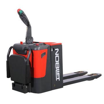 诺力 PT系列经典款全电动搬运车,额定载重(t):2.0,货叉尺寸(mm):685*1150,带脚踏,保护臂